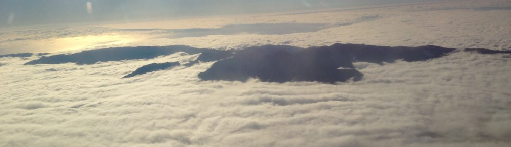 Flying into Madeira